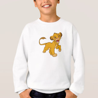 Lion King Simba walking Disney Sweatshirt