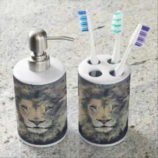 LION KING   Toothbrush Holder and Soap Dispenser
