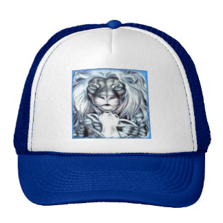 Lion Lamb Trucker Hat