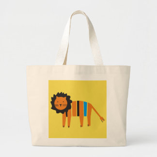 Lion, Large Tote Bag
