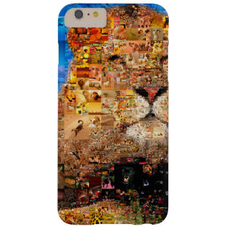 lion - lion collage - lion mosaic - lion wild barely there iPhone 6 plus case