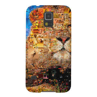 lion - lion collage - lion mosaic - lion wild galaxy s5 case