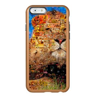 lion - lion collage - lion mosaic - lion wild incipio feather® shine iPhone 6 case