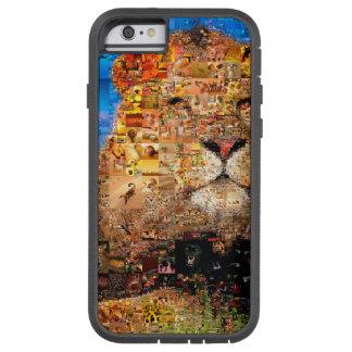 lion - lion collage - lion mosaic - lion wild tough xtreme iPhone 6 case