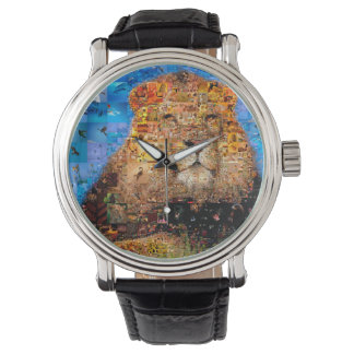 lion - lion collage - lion mosaic - lion wild watch