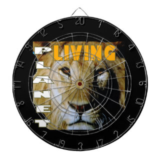 Lion Living planet eco-friendly Dartboard With Darts