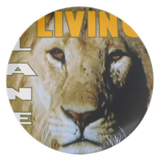Lion Living planet eco-friendly Dinner Plate