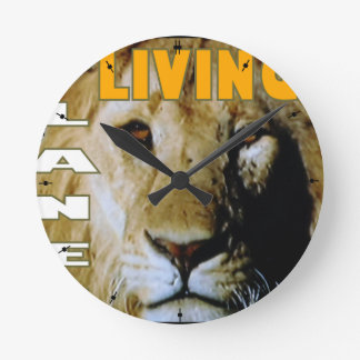 Lion Living planet eco-friendly Wall Clock