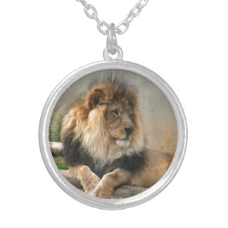 Lion Lovers Silver Plated Necklace