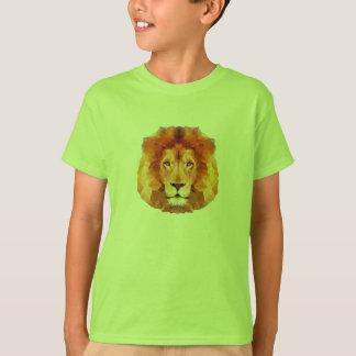 LION Low poly design. Lion illustration T-Shirt