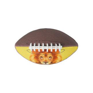 Lion Low Poly Mini Football, 1 Panel Football