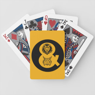 Lion & Lynx Logo Bicycle Playing Cards