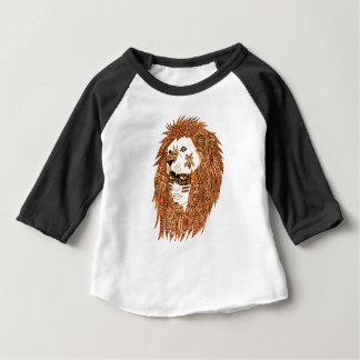 Lion Mask Baby T-Shirt