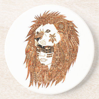 Lion Mask Coaster