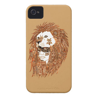 Lion Mask iPhone 4 Case-Mate Cases