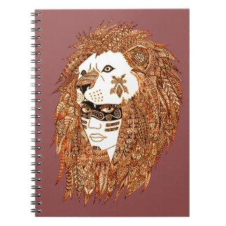 Lion Mask Notebooks