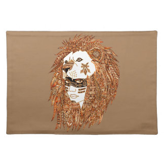 Lion Mask Placemat