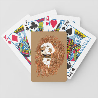 Lion Mask Poker Deck