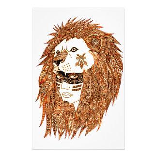 Lion Mask Stationery