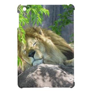 lion nap iPad mini cover