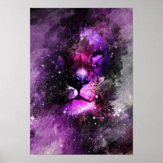 Lion Nebula Poster