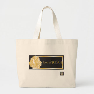 lion of judah 4.psd large tote bag