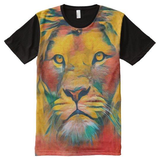 Lion of Judah Acrylic Painting