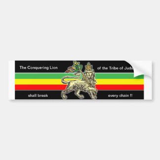 Lion of Judah Bumper Sticker