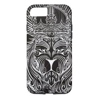 Lion of Judah BW iPhone 7 Case