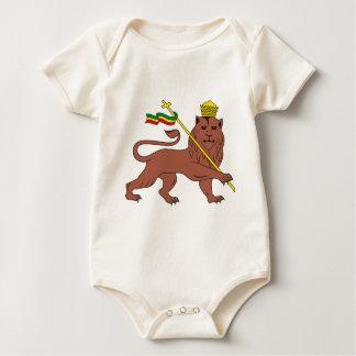 Lion_of_Judah_emblem_of_the_Ethiopian_Empire Baby Bodysuit