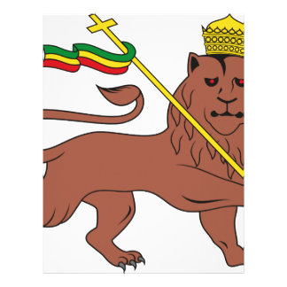 Lion_of_Judah_emblem_of_the_Ethiopian_Empire Letterhead Template