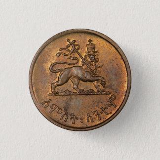 Lion OF Judah - Haile Selassie - Rastafari button