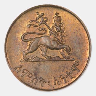 Lion OF Judah - Haile Selassie - Rastafari Sticker