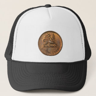 Lion OF Judah - Haile Selassie - Trucker Cap