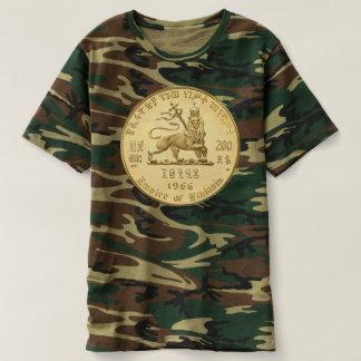 Lion OF Judah - Jah Army gold - Rasta Reggae shirt