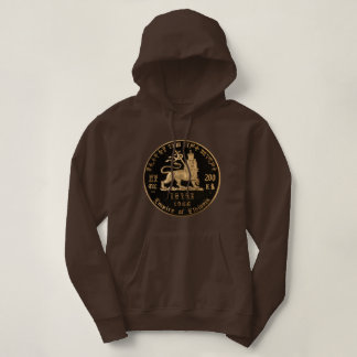 Lion OF Judah - Jah Rastafari Rasta Queen Hoodie