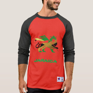 Lion of Judah, Jamaican flag T-Shirt