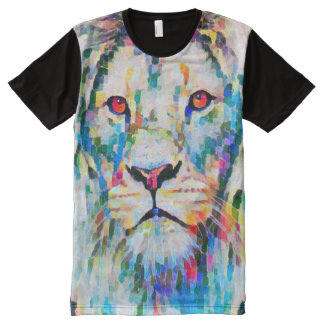 Lion of Judah Post Impressionist Art