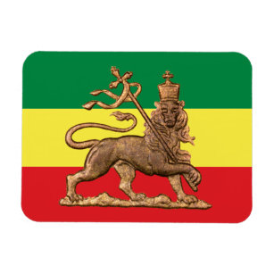 0a63617a Lion OF Judah - Rastafara - Reggae Rasta magnet
