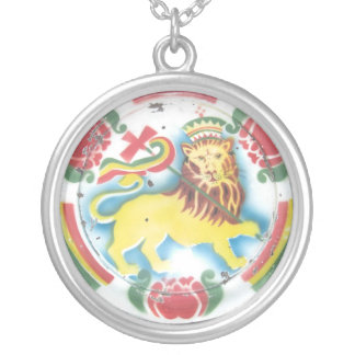 Lion of Judah Silver Plated Necklace