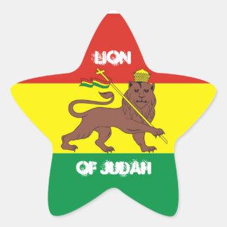 LION OF JUDAH (sticker) Star Sticker