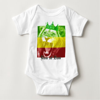 Lion of Zion Baby Bodysuit