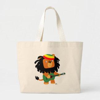 Lion of Zion beach bag