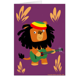 Lion of Zion card