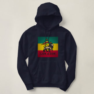 Lion OF Zion - Haile Selassie - Judah Queen Hoodie