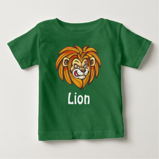 Lion on Baby Fine Jersey T-Shirt