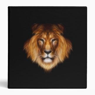 Lion on black Binder