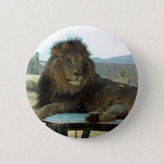 Lion on Car Button