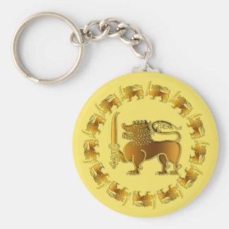 Lion parade Sri Lanka key-chain Keychain