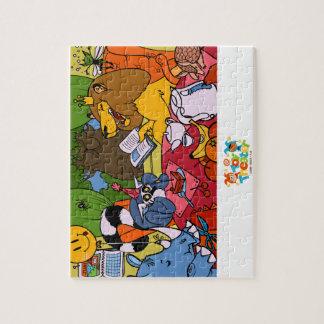 Lion Party Puzzle